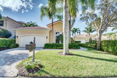 Palm Beach Gardens Single Family Home For Sale: 231 Andalusia Drive