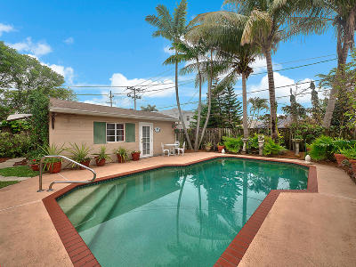 Lake Worth, Lakeworth Single Family Home For Sale: 1128 Palmway