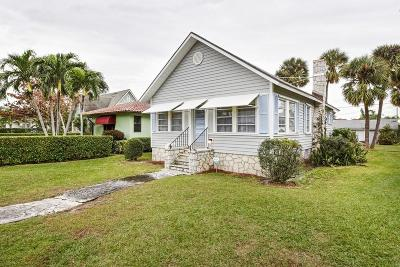 Lake Worth, Lakeworth Single Family Home For Sale: 629 Lakeside Drive
