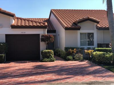 Delray Beach Single Family Home For Sale: 14108 Royal Vista Drive