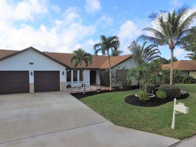 Boynton Beach Single Family Home For Sale: 4290 Pine Cone Lane