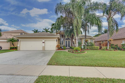 Boynton Beach Single Family Home For Sale: 7482 Brunswick Circle