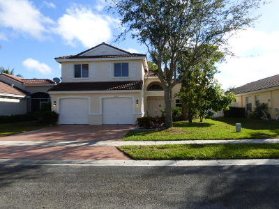 Lake Worth Single Family Home For Sale: 6352 Harbour Star Drive