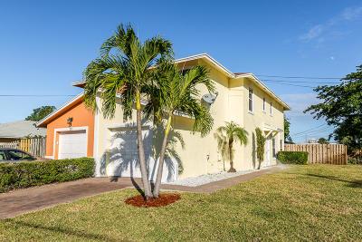 Delray Beach Townhouse For Sale: 253 SE 1st Avenue