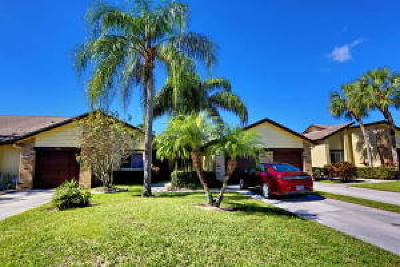 Royal Palm Beach Single Family Home For Sale: 154 Ramblewood Circle