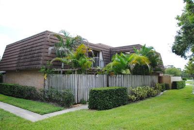 Palm Beach Gardens Townhouse For Sale: 1604 16th Lane