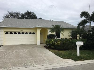 West Palm Beach Single Family Home Contingent: 1405 Fairway Circle