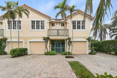 Delray Beach Townhouse For Sale: 336 Venetian Drive #4