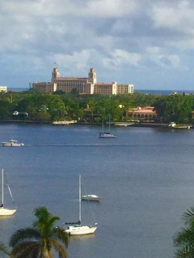 West Palm Beach Condo For Sale: 525 S Flagler Drive #8d