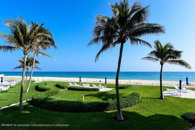 Palm Beach Condo For Sale: 100 Sunrise Avenue #213