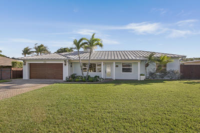 Boynton Beach Single Family Home For Sale: 132 SW 24th Avenue
