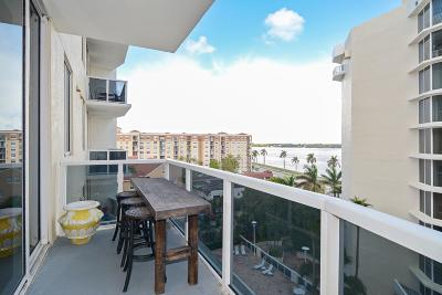 West Palm Beach Condo For Sale: 1617 Flagler Drive #703