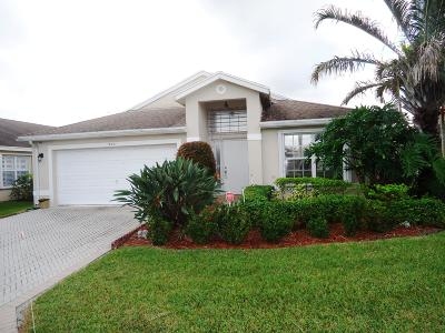 Greenacres Single Family Home For Sale: 1826 Shadow Creek Road
