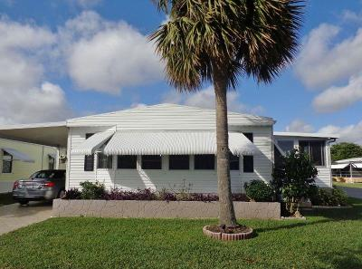 Boynton Beach FL Mobile Home For Sale: $119,900