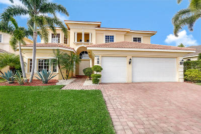 Boynton Beach Single Family Home For Sale: 6568 Cobia Circle