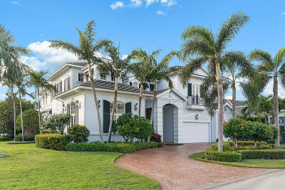 Boca Raton Single Family Home For Sale: 2399 Cherry Palm Road