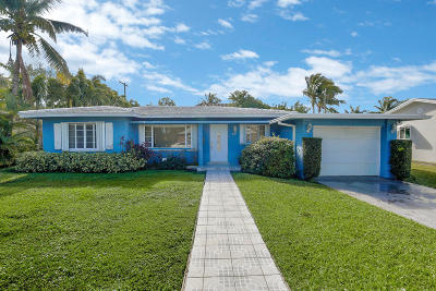 west palm Single Family Home For Sale: 328 Edmor Road