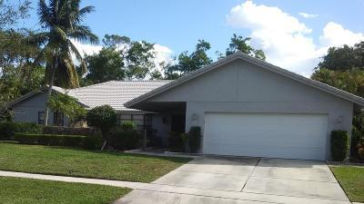 Boca Raton Single Family Home For Sale: 7690 Estrella Circle