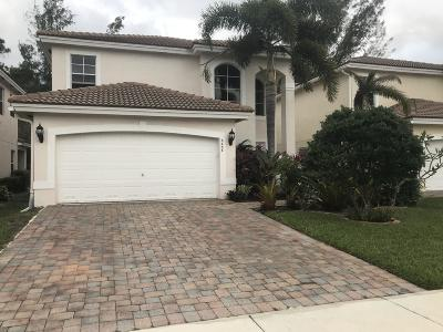 Greenacres Single Family Home For Sale: 6438 Adriatic Way