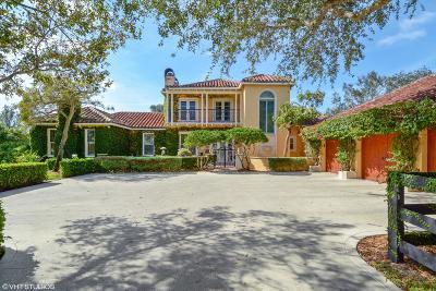 Wellington Single Family Home For Sale: 3245 Santa Barbara Drive