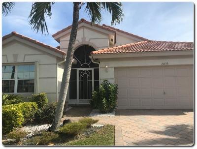 Boynton Beach Single Family Home Contingent: 10536 Sunset Isles Court