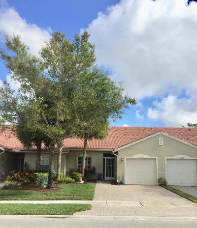 Boynton Beach Single Family Home For Sale: 12124 Serafino Street
