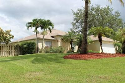 Port Saint Lucie Single Family Home For Sale: 3226 SW Hambrick Street