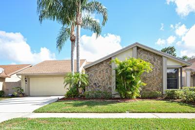 Boca Raton Single Family Home Contingent: 21411 Summertrace Circle