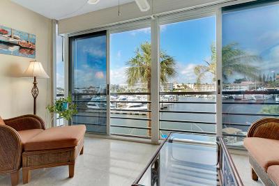 North Palm Beach Condo For Sale: 29 Yacht Club Drive #307