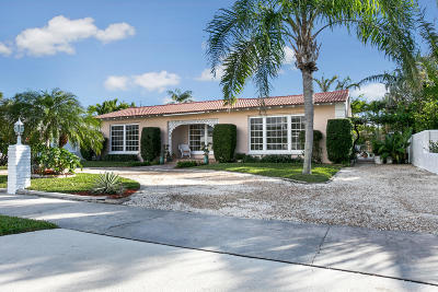 Lake Worth Single Family Home For Sale: 125 Yale Drive
