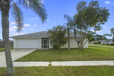 Royal Palm Beach Single Family Home For Sale: 950 Orchid Drive