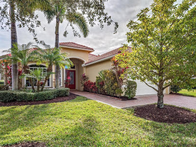 Port Saint Lucie Single Family Home For Sale: 7607 Greenbrier Circle
