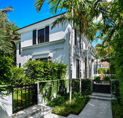 Palm Beach Single Family Home For Sale: 215 Seabreeze Avenue