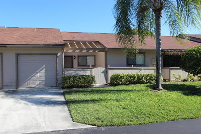 Boynton Beach Single Family Home Contingent: 26 Winchmore Lane