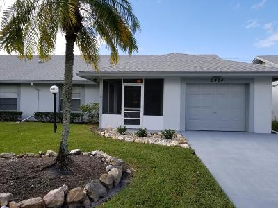 West Palm Beach Single Family Home For Sale: 5404 Crystal Anne Drive