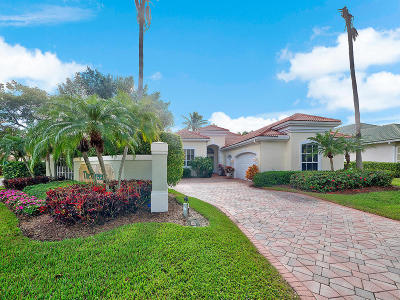 West Palm Beach Single Family Home For Sale: 6634 Oakmont Way