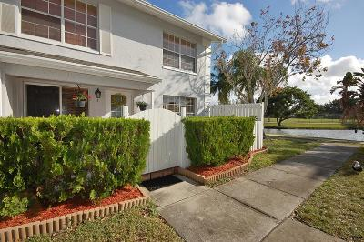 Greenacres FL Townhouse For Sale: $159,900