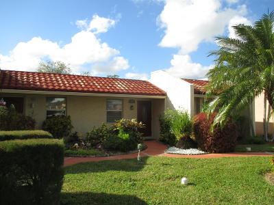 West Palm Beach Single Family Home For Sale: 402 Lake Carol Drive