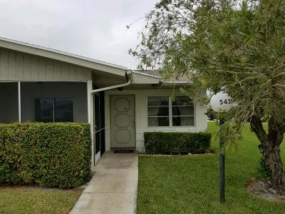 West Palm Beach Single Family Home For Sale: 5431 Janice Lane
