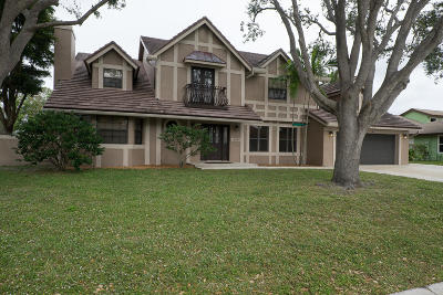 Boynton Beach Single Family Home For Sale: 4349 Caryota Drive