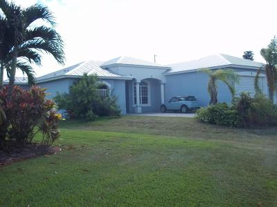 Port Saint Lucie Single Family Home For Sale: 2643 SW Harem Circle