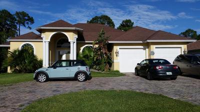 Port Saint Lucie Single Family Home For Sale: 3073 SW Savona Bv Boulevard