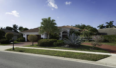 Boca Raton Single Family Home For Sale: 10610 Stonebridge Boulevard