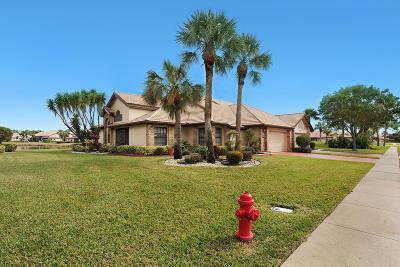 boynton beach Single Family Home For Sale: 8170 Cassia Drive #8170