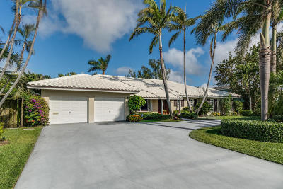 Delray Beach Single Family Home For Sale: 1145 Harbor Drive