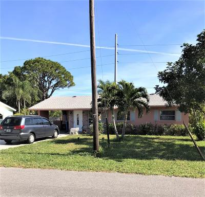 Boynton Beach Single Family Home For Sale: 1026 NW 7th Street