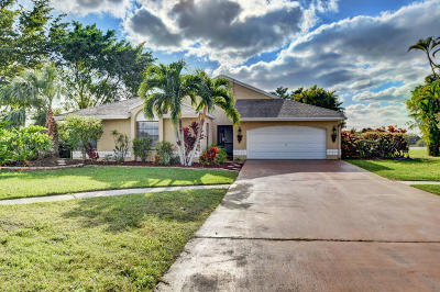 Boca Raton Single Family Home For Sale: 11944 Sunchase Court