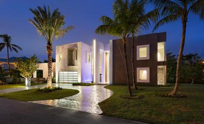 Gulf Stream, Ocean Ridge Single Family Home For Sale: 6238 North Ocean Boulevard