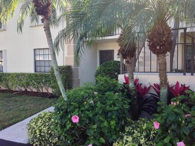 Jupiter Condo For Sale: 801 Pinecrest Circle #C