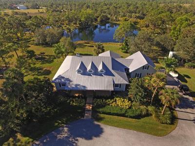 Jupiter Single Family Home For Sale: 3094 SE Ranch Acres Circle